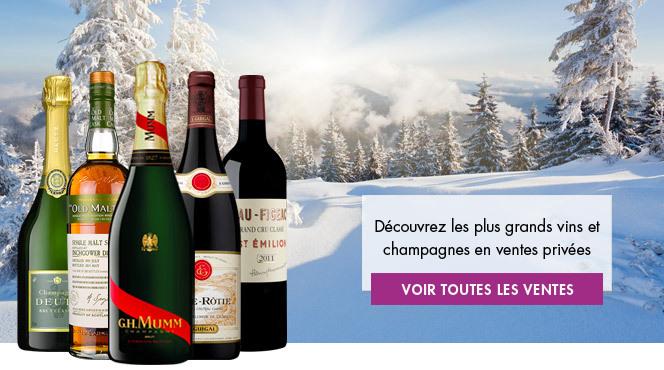 Les plus grands vins et champagnes